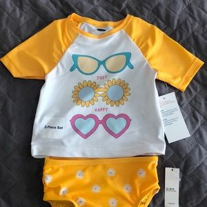 2 piece swimsuit set. 12-18 Months